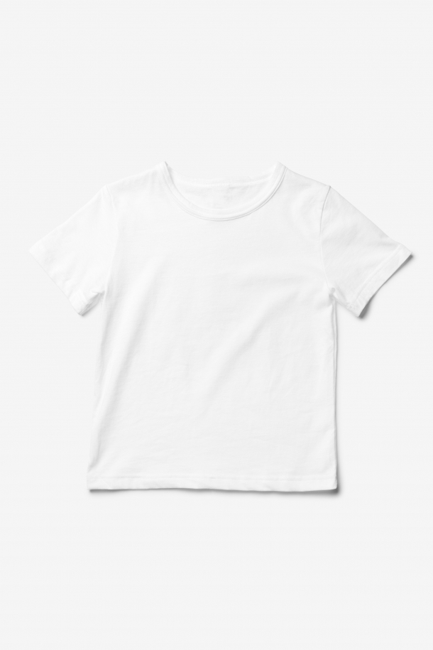 Kids' crew neck T-shirt
